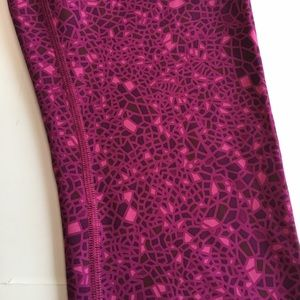 lululemon athletica Pants - New Lululemon high times Leggings DSWG 7/8 fuchsia